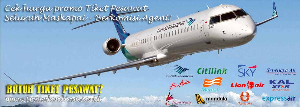 Cek dan Booking Tiket Pesawat & Voucer Hotel
